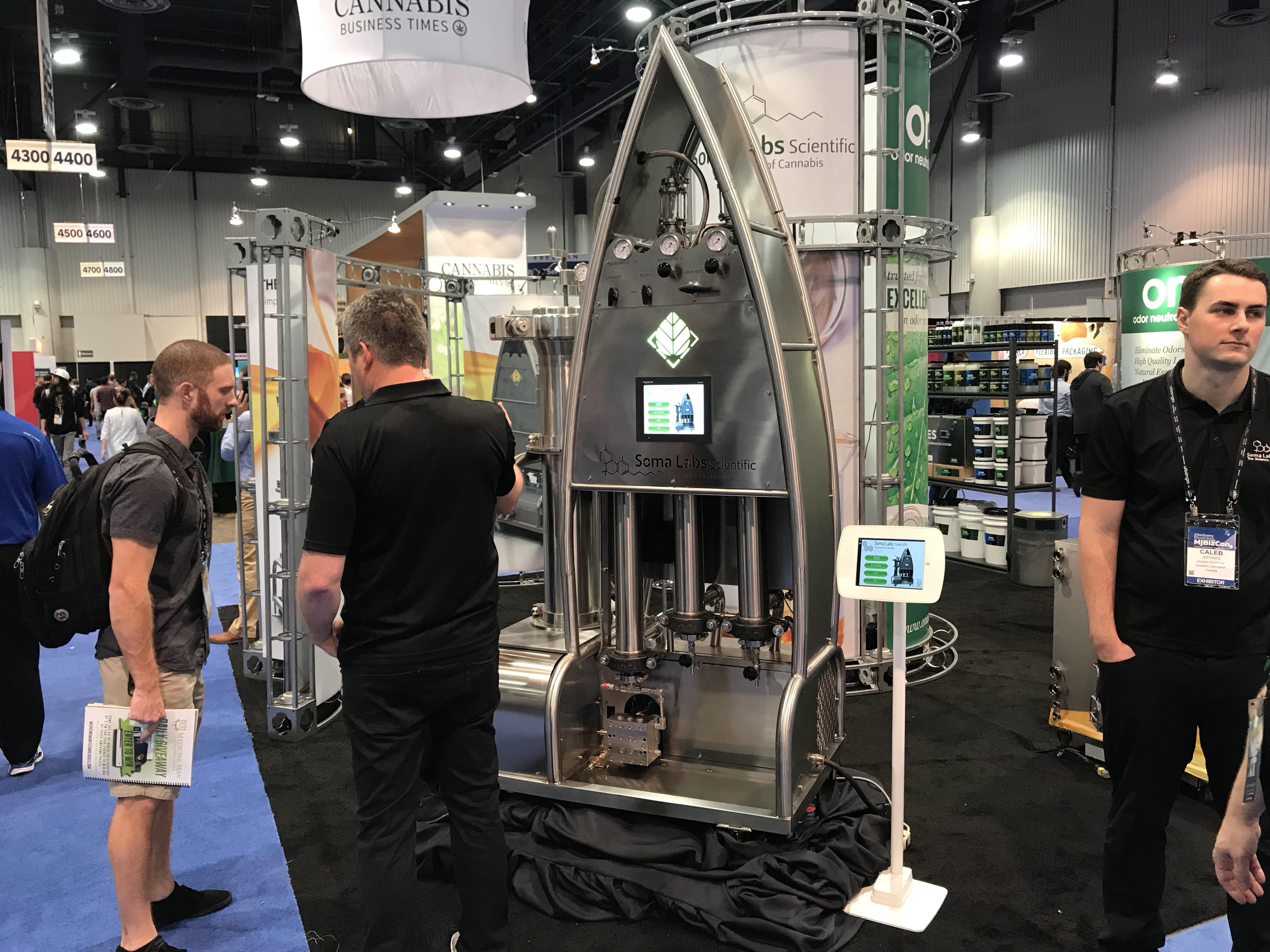 The BOSS CO2 Extraction System