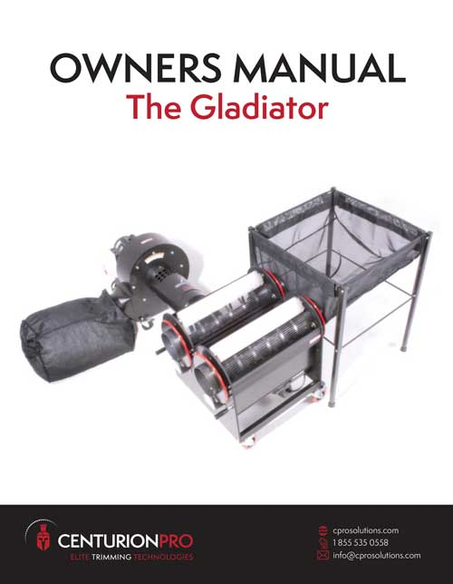 CenturionPro Gladiator Owners Manual
